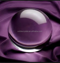 clear crystal ball with free engraving