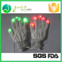 Hot Selling High Quality Decoration FDA CE led knitting sport bike glove