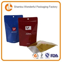 Cocoa/Coffee alumium foil lined kraft paper packing bags for sale