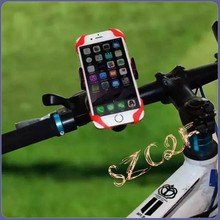 Rotation Bicycle Phone Bike Holder Handlebar Clip Stand Mount For iPhone 5S 5 6S 6 For Samsung S7 S6 Edge S5 Handle Bar Stands