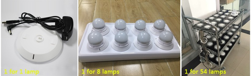 IR/RF Remote Wireless battery operated under table led light wedding centerpieces for event banquet glass table decoration