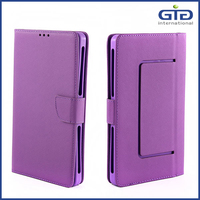 [GGIT] Universal Flip Case Pure Color Leather Cover for 7 Inch Cell Phone