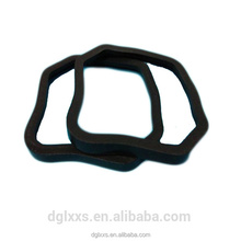 Food Grade Silicone Rubber Seal Ring Black Rubber Rectangular o Ring