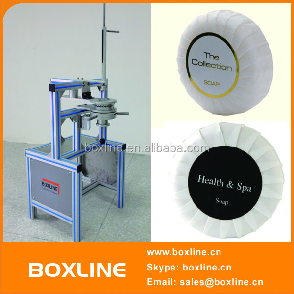 Manual Soap Fabric Pleat Wrapping Machine
