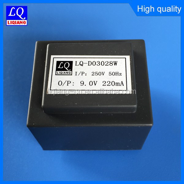 250v EI30*15.5 pcb mount encapsulated transformer with CE ROHS Certificate