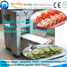 -18 degree centigrade frozen meat directly slicer roll machine ham slicer machine