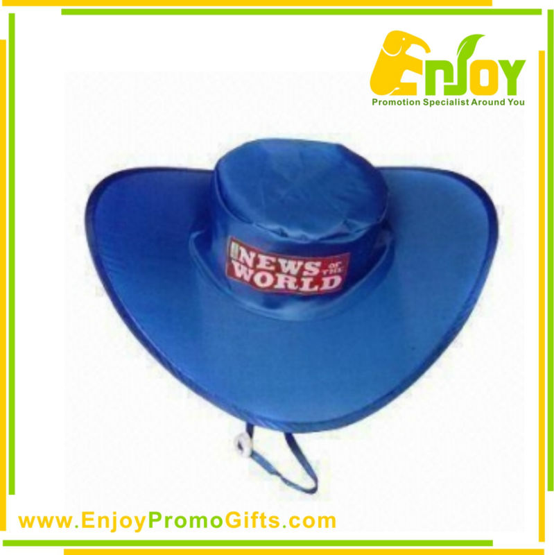Advertising Top Quality Logo Printed Foldable Hat