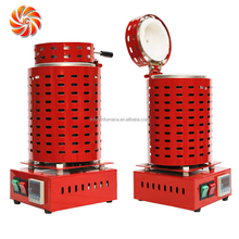 JC CE Approved Scrap Bronze/Aluminum Metal Small Melting Furnace