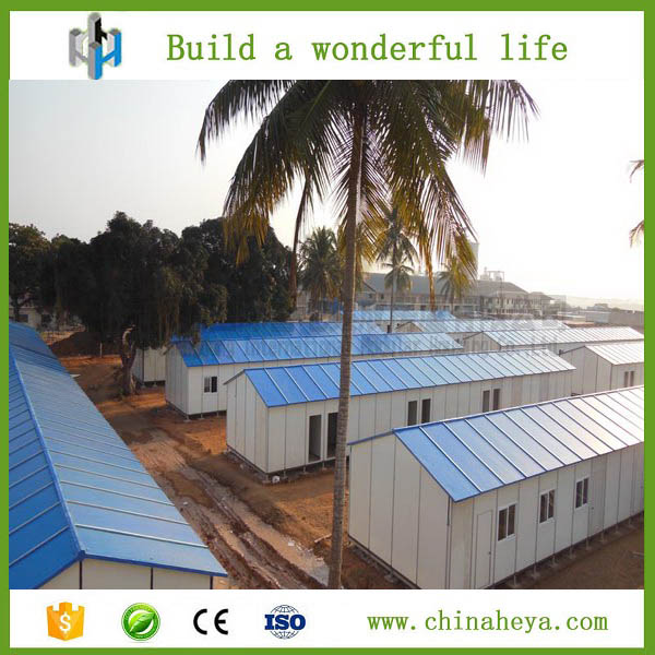 2016 hot sale affordable modular prefabricated house for camping