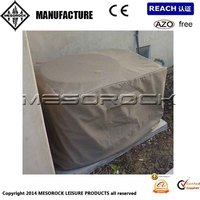 Outdoor Air Conditioner Cover Central Exterior Ground A/C Rectangular Cover