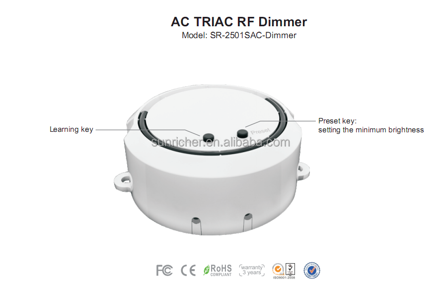 Buy Wholesale Support all the Triac Dimming System LED Triac Dimmer 220V