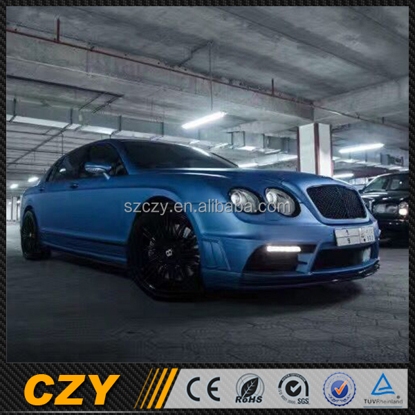 WALD Style Tuning Auto Car PP Body Kit for Bentley Continental GT 09-12