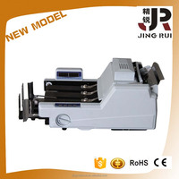 2016 Latest new design long belt with UV MG detection sorter money Bill Counting Machine