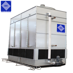 Air and water cooled closed type hybrid cooling tower