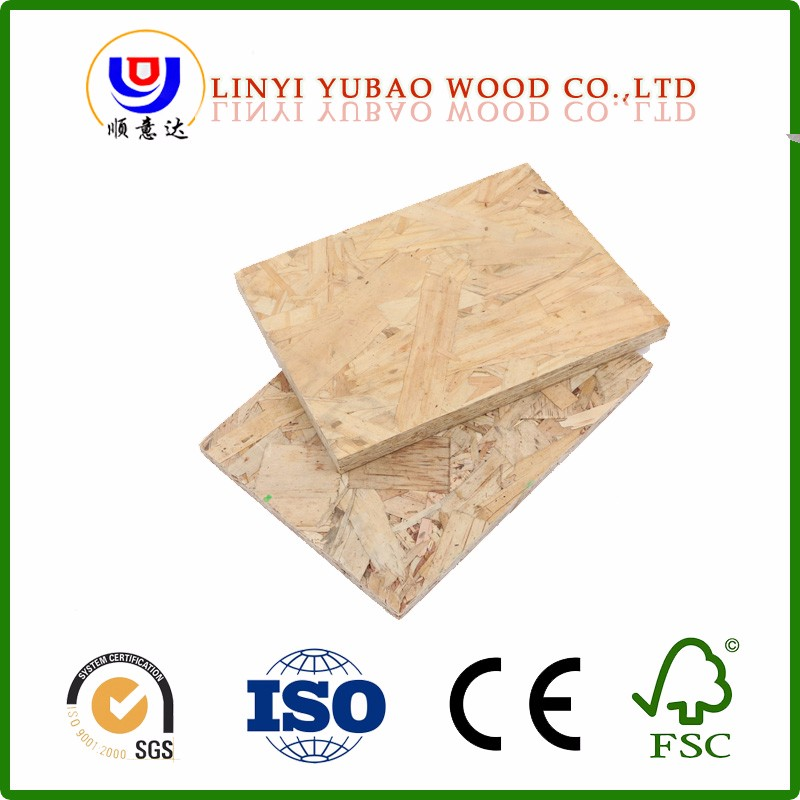 Hot selling linyi cheap laminated osb with great price 6mm