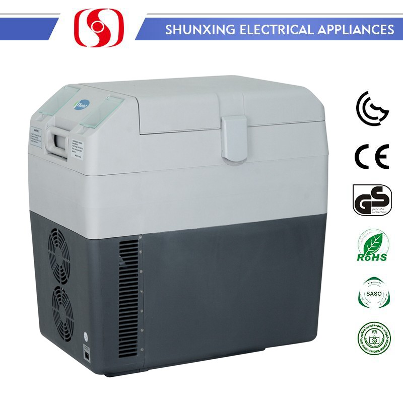 30L travel auto Car Fridge Freezer Mobile Freezer Mini Freezer