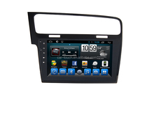 car headunit gps navigation indash car dvd car stereo for VW GOLF 7 with 10.1 inch