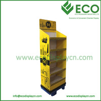 Promotional Flooring Display Rack for Power Tool Display Stand