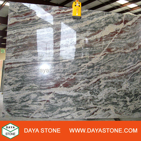 Silver Galaxy Granite with High Gloss