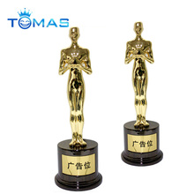 High Quality Custom Metal replica oscar trophy awards buy Oscar trophy