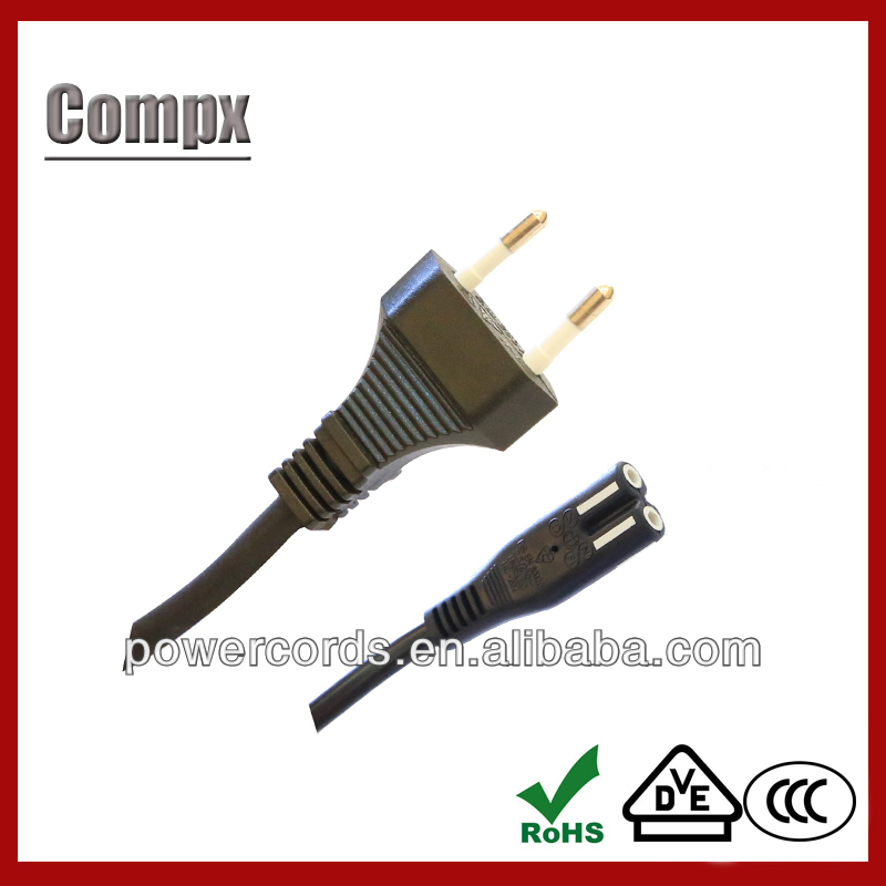 european power cord plug