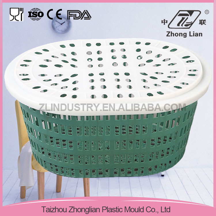Hot selling portable plastic storage basket for vegetable/fruit