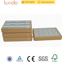 wholesale wooden jewelry display trays