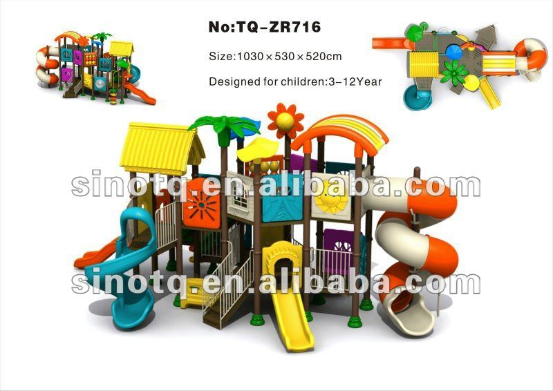 Hot sales Lovely design Children Outdoor Playgrounds Equipments model TQ-ZR716