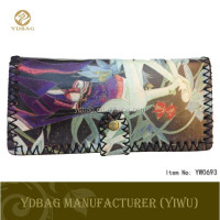 Unique design wallet women with beautiful printing