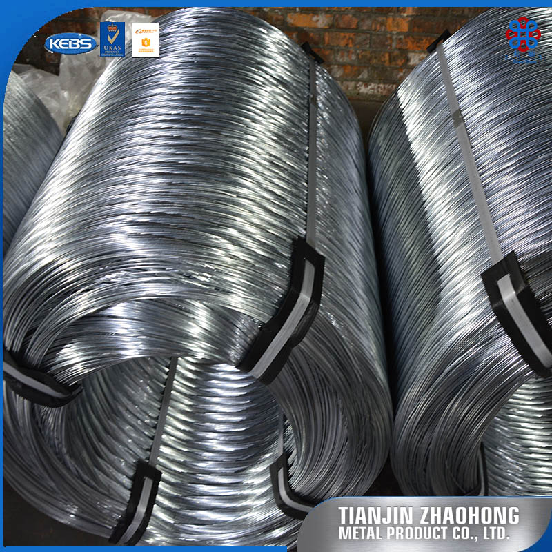 18 gauge 25kg / coil 50kg / coil galvanized tie iron wire ISO for wire mesh