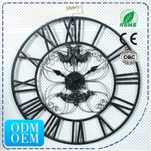 HSD Hot Selling 23 inch Antique Wall Mounted Clock Number AA040901