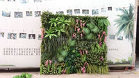 artificial playground grass turf /grass wall decor for wall decoration