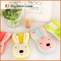 For iphone 4 rabbit ear silicone mobile phone case