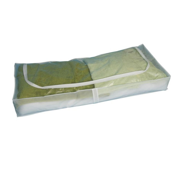 clear pvc folding fabric reusable blanket storage bags wholesale