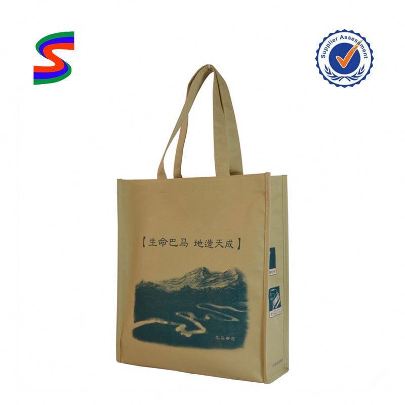 Foldable Pp Woven Shopping Bags Foldable Recyclable Nonwoven Bag