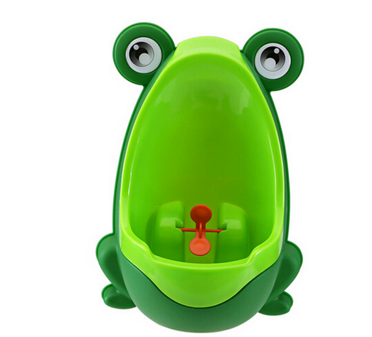 Urinals For Kids PP Frog Children Stand Vertical Infant Urinal Wall Groove Baby Boy Potty Toilet Trainers Urinals