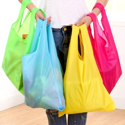 Mini reusable baggu bag foldable shopping bag