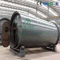 Latest technology waste plastics recycling horizontal pyrolysis plant with CE ISO SGS certified