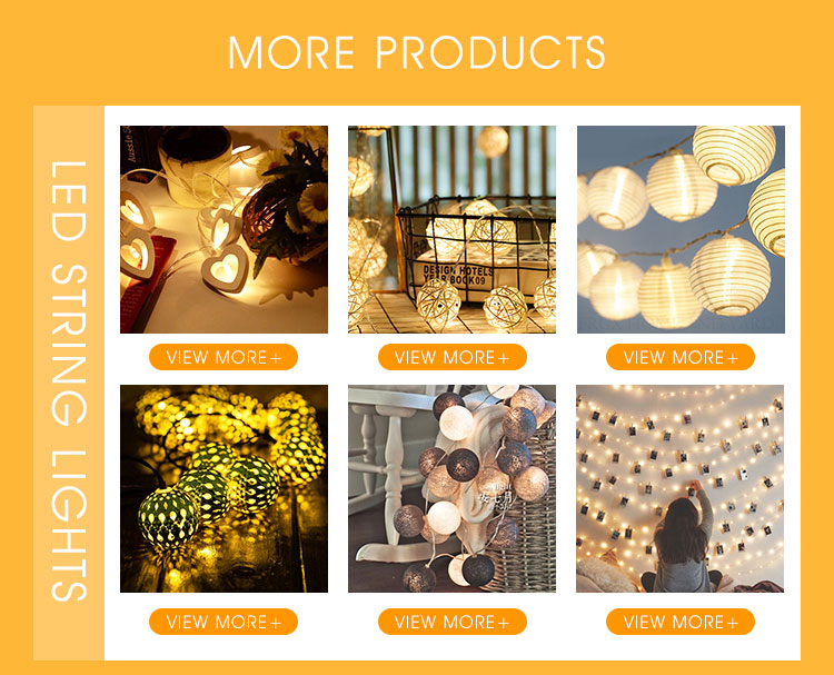 Home Decoration Factory Price 10L Cotton led Balls