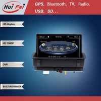 In-dash Car Multimedia Car GPS Navigation For Audi Q3 With Wince 6.0 System 800*480 Pixel