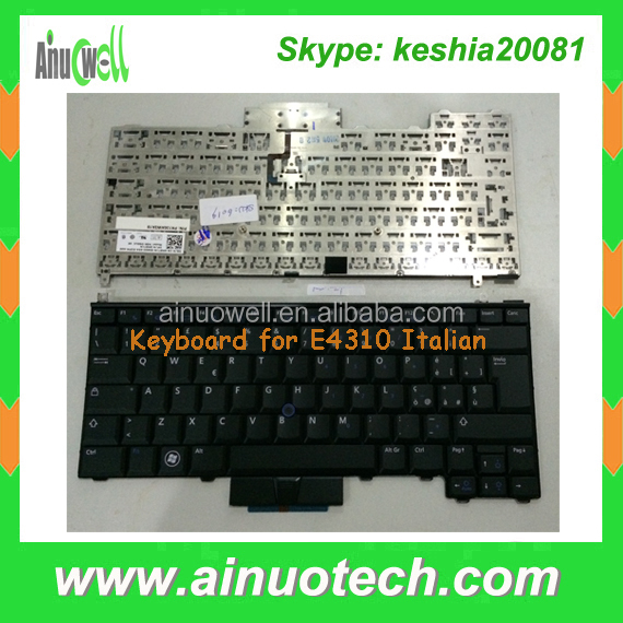 IT laptop Keyboard for dell E4310 Italian laptop Keyboard E4300 E4200