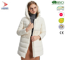 Winter Quilted Duck Down Parka Jacket For Women Coat