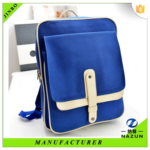 Japan school cheap new canvas laptop rucksack in college