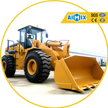 Earth Moving Machine 5ton bucket Wheel Loader Road Construction Equipment for sale
