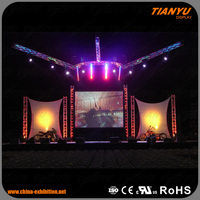 Professional Global Truss Concert Stage Roof Truss Equipment