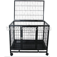 2015 High quality Square Metal pet Kennels for dogs or cats KE056
