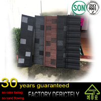 hot selling new model cheap price sheet natural sand rock coated metal roof tile