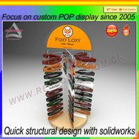 Hair Clip Display Stand Modern Design Free standing rotating display rack