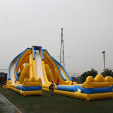 New design customized gaint inflatable water slide for adults on sale