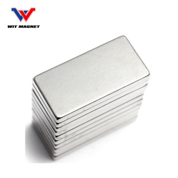 WIT Rare Earth Neodymium Block Magnets 50x25x10 mm N52
